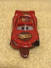 Disney Cars Lightning Mcqueen Tongue Diecast Car Red Used