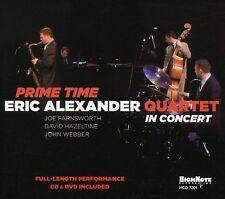 Eric Alexander, Eric Alexander Quartet - Prime Time [New CD] With DVD