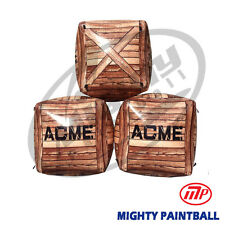 Mighty Paintball Air Bunker (Inflatable Bunker) - 3 Boxes Stacked