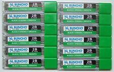Buncho Mechanical Pencil Refills High Polymer Lead 0.7mm 2B: 360 Leads