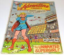 Bronze Era DC Adventure Comics Supergirl May 1970 No.393 (Boarded & Bagged)