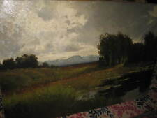 KNOBLOCH Josef Rolf, *1891 Landschaft bei  Rosenheim