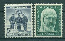 AAT AUSTRALIAN ANTARCTIC 1961 EXPLORATION OF ANTARCTICS MNH M10686