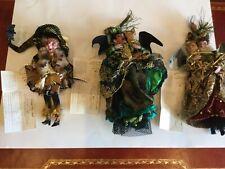 Nwt Lot Mark Roberts Witches Freaky, Masquerade Elegant, Glamorous Mardi Gras