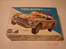 VINTAGE MODEL KIT KITBASH PARTS MPC TRIUMPH TR.4A RACING CAR 1/32 SCALE UNOPENED