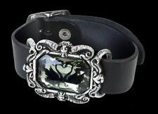 ALCHEMY Pulsera de piel - Black Swan - Gothic Joyas BRAZO