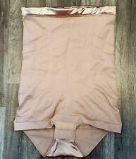 Spanx 1457 High-Waist Body Tunic Rose Gold sz M MEDIUM NWOT DAMAGE READ