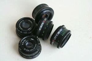 INDUSTAR 50-2   f/3.5 50mm Russian SLR Lens M42
