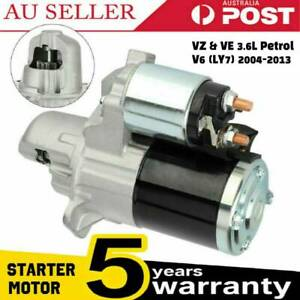 Starter Motor for Holden Commodore VZ VE V6 3.6L Petrol Adventra Statesman WL WM