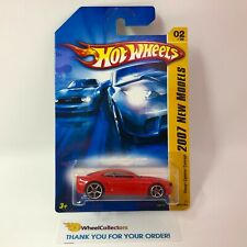 Chevy Camaro Concept #2 * RED * 2007 Hot Wheels * WF12