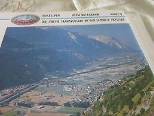 Alpenbahnen Westalpen K 9 Lötschbergbahn Spietz Frutigen