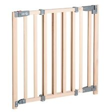 Roba Holz Schutzgitter, Türgitter, Treppengitter 78-100,5 cm, Höhe 83,5 cm