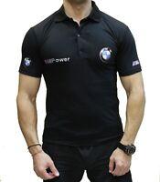 Handmade Polo BMW M Power COLLAR Logo Emblem Polo T-shirt футболка Cotton  M5 M6