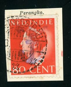 Japanese occupation: West-Borneo cancel POETOESIBAU 1944-??-??  with Anchor