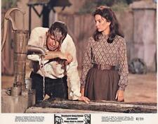 """George Peppard, Jean Simmons """"Rough Night in Jericho"""" vintage movie still"""