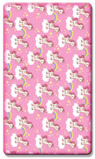 100% Cotton Soft Beautiful Cot Fitted sheets 120 x 60 cm - Unicorn Pink