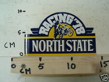 STICKER,DECAL NORTH STATE RACING MOTOCROSS MX 1978