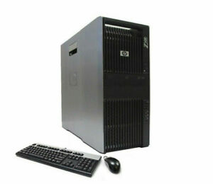 HP Z600 Workstation 12-Core Xeon 2x X5675 3.06GHz 24GB 480GB SSD 2TB Nvidia 4GB