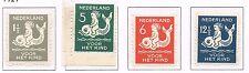 Nederland Roltanding R82-R85 kinderzegels 1929 POSTFRIS cat waarde € 140