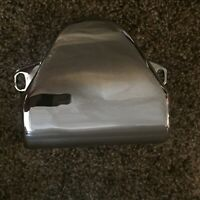Harley Shovelhead Handlebar Triple Tree Riser Chrome Cover Custom Bobber Chopper
