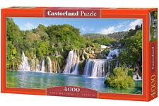 Castorland C-400133 Puzzle Krka Waterfalls, Kroatien Wasserfall Park 4000 Teile