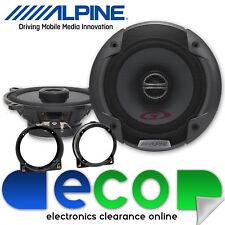 Honda Civic EP3 2000 - 2005 Alpine 400 Watts 13cm Front Door 2 Way Car Speakers