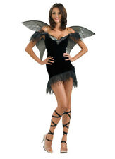 Womens Fairy Costume Medium Rubies Secret Wished Dark Fairy 888694 with Wings