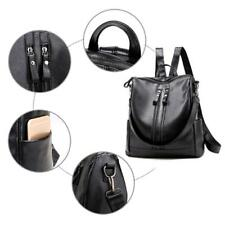 Women's Backpack Travel PU Leather Handbag Rucksack Shoulder School Bag