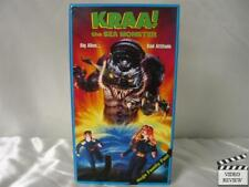 Kraa! The Sea Monster VHS Teal Marchande, R.J. McMurray
