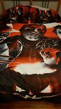 Halloween Michael Myers Freddy Krueger Jason Voorhees Full Size Comforter Set 🎃