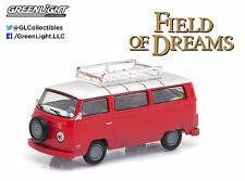 1:64 GreenLight *HOLLYWOOD R9* RED 1973 VW Type 2 Bus *FIELD OF DREAMS* NIP