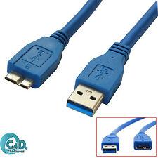 5M HAUT DÉBIT USB 3.0 Câble pour WD My Passport Ultra EXTERNE DISQUE DUR HDD