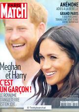 MEGHAN & HARRY ARCHIE HARRISON BABY SUSSEX  Paris Match Mai 2019 BRAND NEW ©TBC