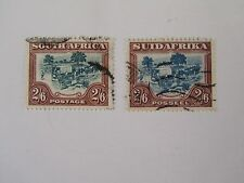 1927 South Africa Trekking Used Fine #30a & 30b