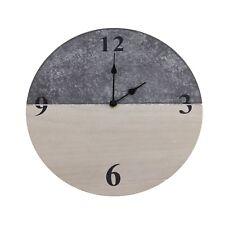 Wanduhr 30cm Designuhr Retro Holz Deko Holzuhr Uhr Küchenuhr Wohnzimmer Büro