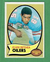 1970 TOPPS FOOTBALL #43 ELVIN BETHEA ROOKIE CARD HOUSTON OILERS NM-MT
