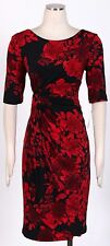 CONNECTED Red Sz 8 Women's Wear to Work Stretch Dress  New