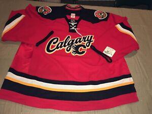 Nwt Calgary Flames 2013-16 Third Reebok Edge 2.0 7287 Authentic Jersey 58 NEw