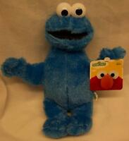 """Sesame Street SOFT COOKIE MONSTER 12"""" Plush STUFFED ANIMAL Toy NEW w/ TAG"""