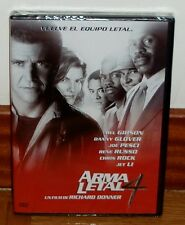 ARMA LETAL 4-LETHAL WEAPON 4-DVD-NUEVO-NEW-PRECINTADO-SEALED-MEL GIBSON-ACCION