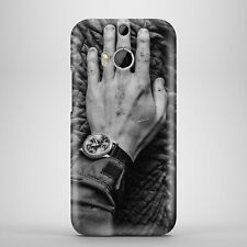 Hand & Watch Touch Elephant Skins White & Black Phone Case Cover