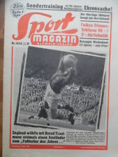 SPORT MAGAZIN KICKER 14B- 5.4. 1956 Bernd Trautmann ManUnited Conny Freundorfer