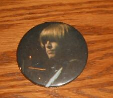 """The Rolling Stones Button 80s Pin 2 1/4"""" Brian Jones"""
