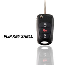 3Buttons Remote Folding Flip Key Case Fob Shell For KIA Soul Rondo Sportage Rio