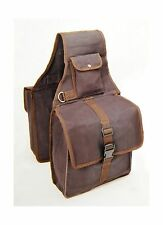 Tough1 Canvas Saddle Bag for Horses Brown NEW, Free Shipping