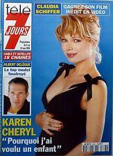 TELE 7 JOURS 1995_KAREN CHERYL_ALBERT DELEGUE_CARLOS_NICOLE CALFAN_Albert UDERZO