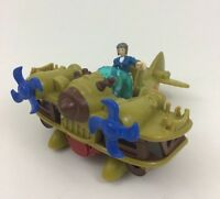 Imaginext Biplane Bomber and Pilot Figure Toy 2pc Fisher Price 2016