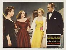 MARILYN MONROE And BETTE DAVIS In ALL ABOUT EVE 11x14 LC Print 1950