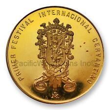 Mexico 1972 Festival Cervantino - Guanajuato Gold Medal Sku# 7717