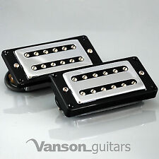 NEW Vanson 'Rockatron' Alnico II Chrome Humbucker for Gretsch ®, Epiphone ®* etc